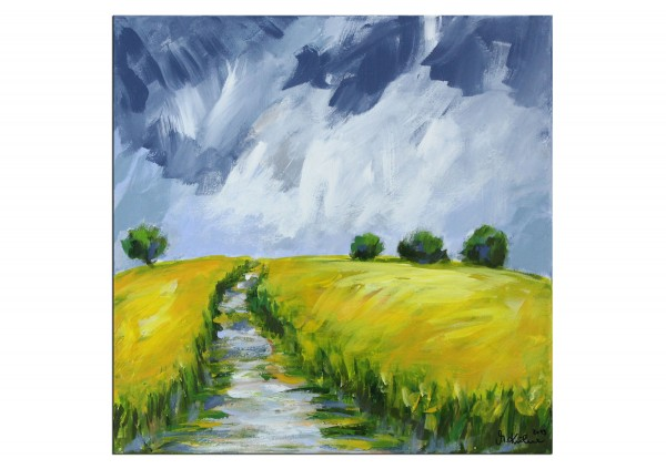 "Moderne Landschaftsmalerei, M.Kühne: ""Rapsfelder"""