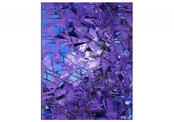 "Acrylbilder, J. Fernandez: ""Blaue Facetten"" (ri)"
