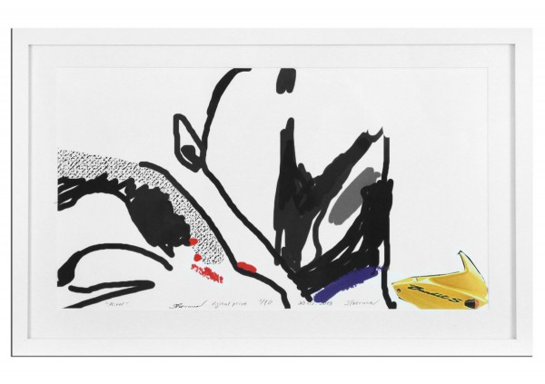 "Limitierter Kunstdruck, Stefan Petrunov: ""Abstract Composition I"" (A)"
