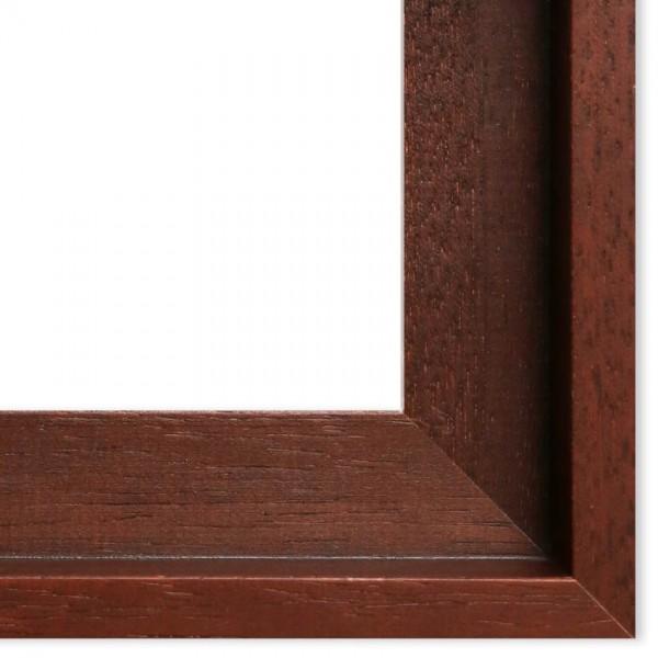 Premium Schattenfugenrahmen braun SR43100-b, Bilderrahmen Holz, modern