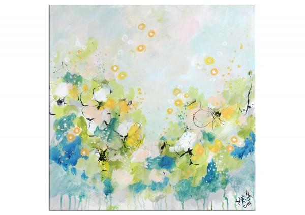 """Gemälde abstrakt, Maya: """"Kleiner Frühling"""""""