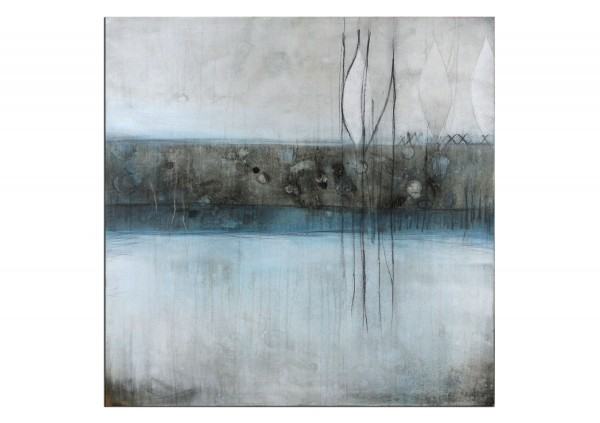 "Abstrakte Acrylmalerei, M.Rick: ""Träumen vom See"" (ri)"
