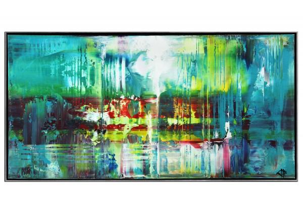 "Acrylgemälde, G. Hung: ""Fluides Licht II"" (ri)"