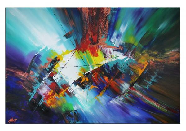 """Abstrakte Kunstbilder, G. HUNG: """"Shockwave III"""""""