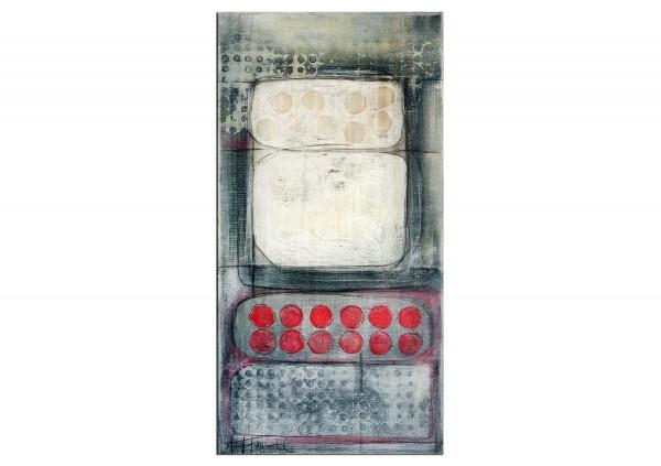 """Abstrakte Acrylbilder von A. Freymuth: """"Mengenlehre"""""""