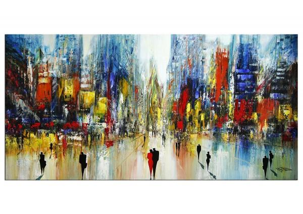 "Modernes Gemälde, K. Namazi: ""Sunday in the City"" (ri)"