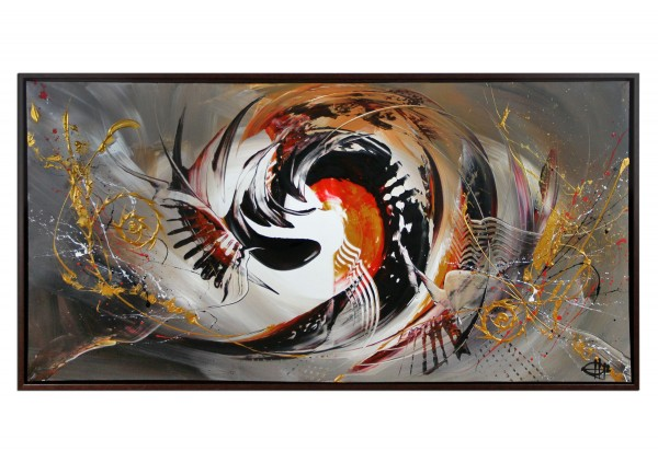 "Acrylgemälde, G. Hung: ""Frontaldynamik IV"""