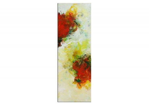 "Abstrakte Acrylmalerei, C. Middendorf: ""Blütenpaar"" (A)"