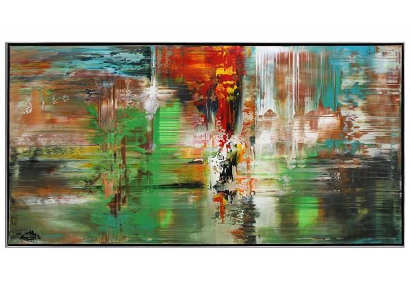"""Acrylgemälde, G. Hung: """"Analytik III"""""""