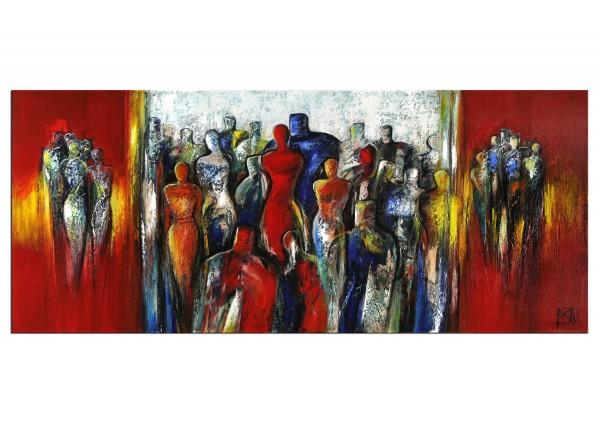 "Modernes Gemälde, K. Namazi: ""Vorhang auf I"" (A)"