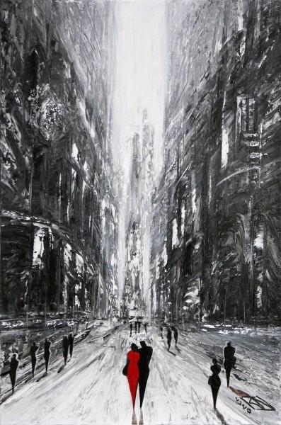 """K. Namazi: """"Stadt der Erinnerung I"""", Originalgemälde (Unikat) (ri)"""
