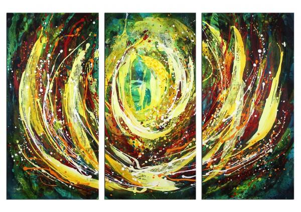 "Acrylbilder, L.Roth: ""Free flow"""