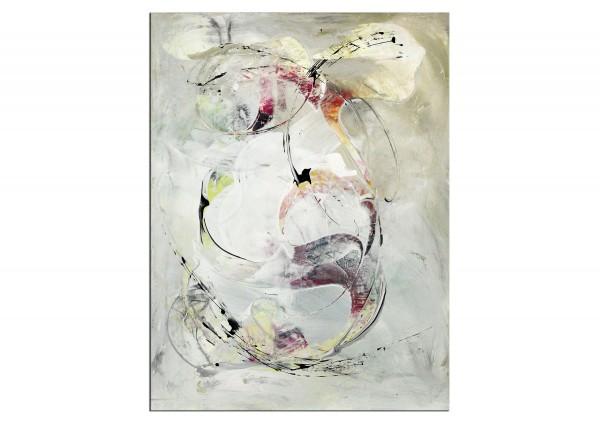 "Abstrakte Acrylmalerei, C. Middendorf: ""Hinter'm Vorhang I"" (A)"