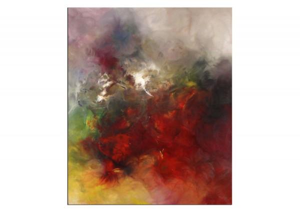 """Abstrakte Acrylmalerei, C. Middendorf: """"Happiness Run I"""""""