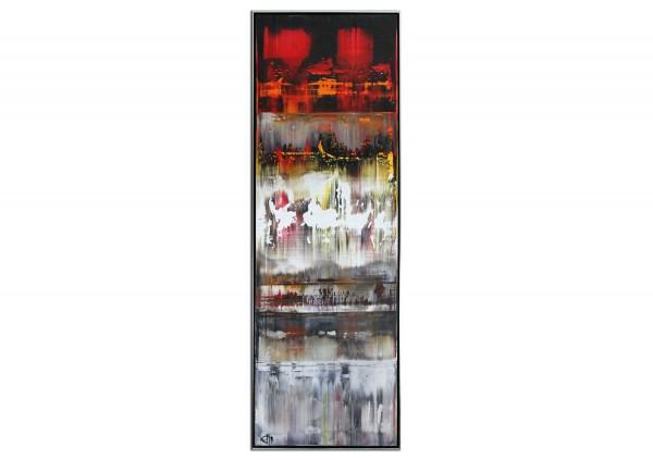 """Acrylgemälde, G. Hung: """"Diffundierendes Wasser III"""""""