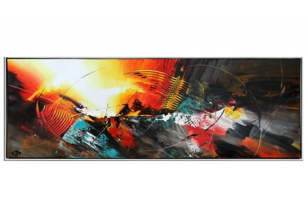 "Modernes Acrylgemälde, G. Hung: ""Firewall IV"" (ri)"