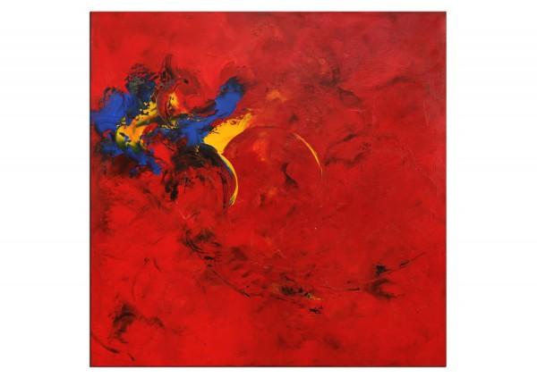 "Abstrakte Acrylmalerei, C. Middendorf: ""Kraftmagnet I"" (A)"
