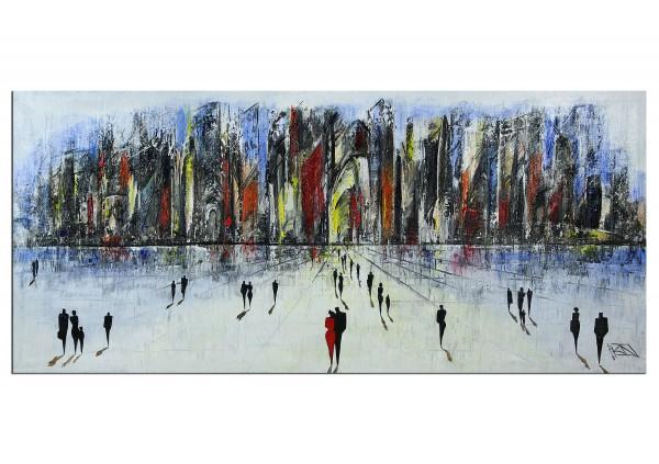 "Modernes Gemälde, K. Namazi: ""Vor den Toren V"" (ri,A)"