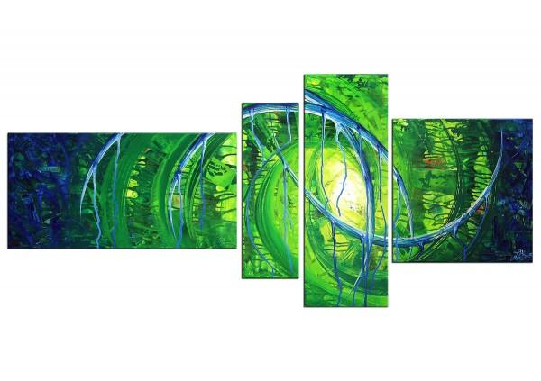 """Acrylbilder, R.König: """"Quality Time I"""" (ri)"""