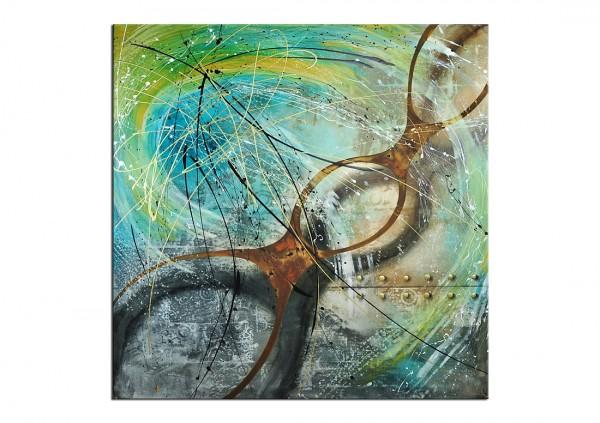 """Acrylmalerei, A. Freymuth: """"ORAKEL"""", XL-Format (E)"""