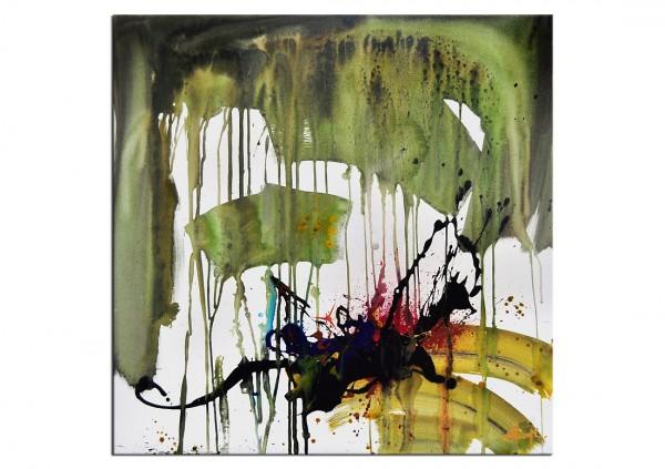 """Acrylgemälde, G. Hung: """"LIQUID DREAM II"""" (E)"""