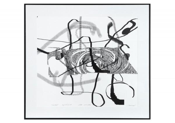 """Limitierter Kunstdruck, Stefan Petrunov: """"Abstract Composition II"""" (A)"""