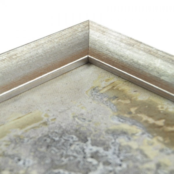 Premium Bilderrahmen Holz Silber antik HR-351062-sa, inkl. Blendrahmbleche