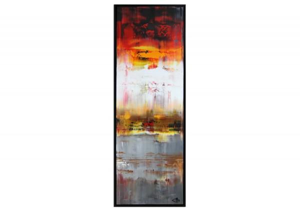 "Acrylgemälde, G. Hung: ""Diffuser Horizont I"" (ri)"