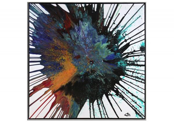 """Acrylgemälde, G. Hung: """"Unendliche Weiten I"""" (ri)"""