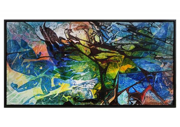 """Acrylgemälde, G. Hung: """"Streetart II"""""""