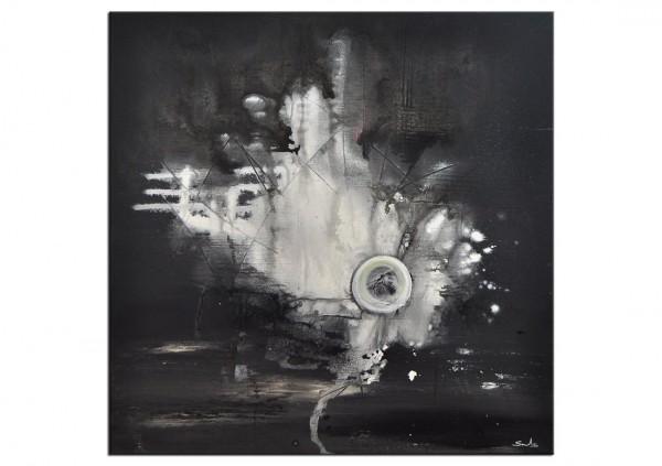 """Acrylgemälde, C. David Schwartz: """"GRAVEDAD"""""""