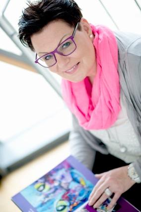 Künstlerin Middendorf
