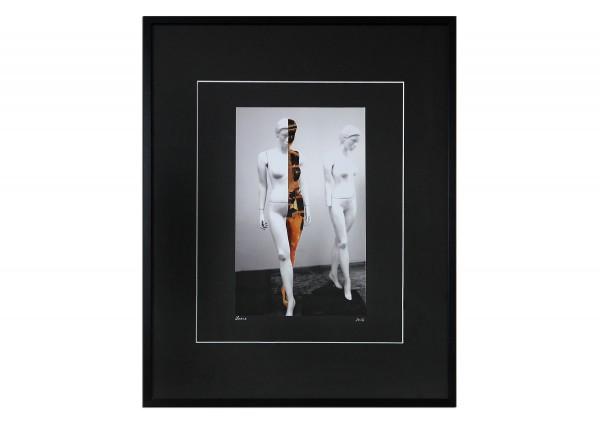 """Surrealistische Collage, F. Lorenz: """"Die Seelenwanderer II"""""""
