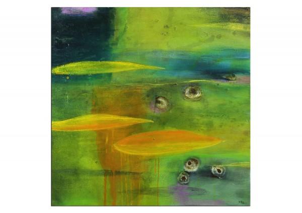 "Abstrakte Acrylmalerei, M.Rick: ""Kleine Spielerei II"""
