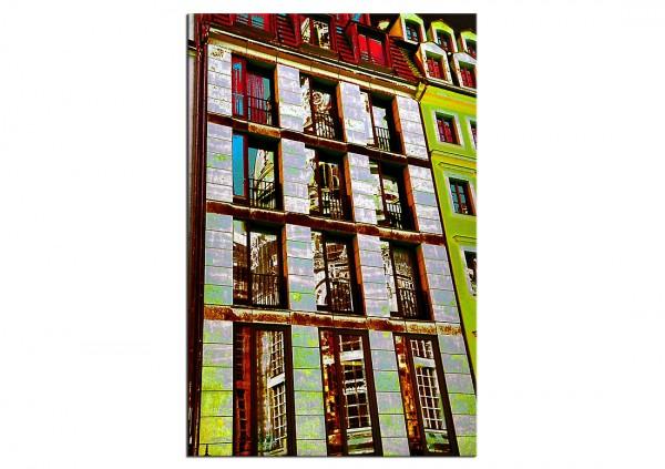 """Fotografie/Kunstdruck, T. Peter: """"ALTES IN NEUEM I"""""""