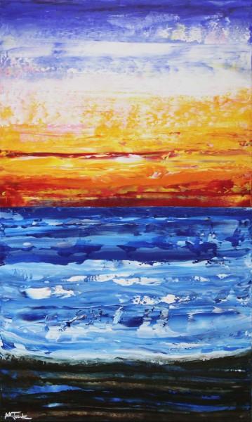 "J. Fernandez: ""Cable Beach IV"", Originalgemälde (Unikat), Acrylbilder"