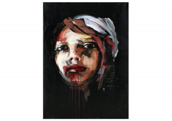 "Neoexpressionismus, Porträt, J.J. Piezanowski: ""La tentation de ne rien faire"" (A)"