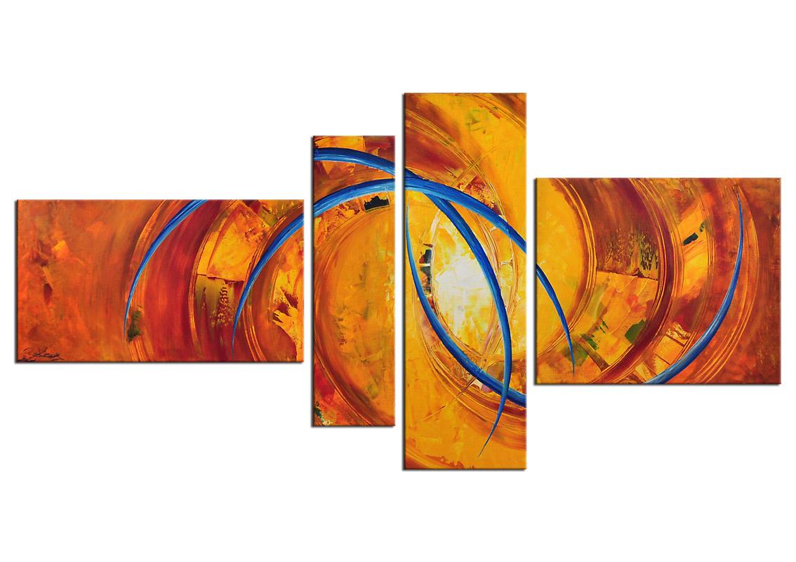 Bild Abstrakt Mehrteilig :   Acrylbilder abstrakt  Acrylbilder Galerie  Kunst online kaufen
