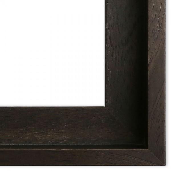 Premium Schattenfugenrahmen schwarz SR43112-s, Bilderrahmen Holz, modern