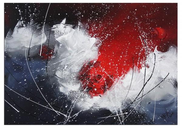 """Abstraktes Gemälde, Maya: """"Red Light I"""""""