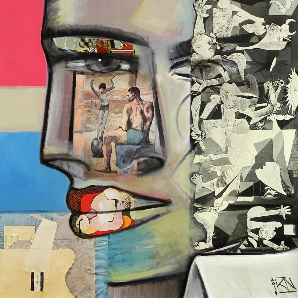 "K. Namazi: ""War & Peace"", Edition, signierter Kunstdruck"