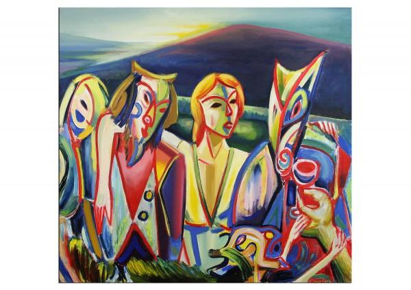 Neoexpressionistische Ölbilder