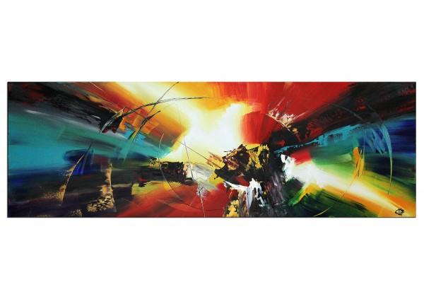"Acrylgemälde, G. Hung: ""Energiebarriere I"""
