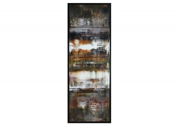 """Acrylgemälde, G. Hung: """"Polarmeer"""""""