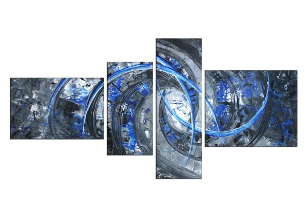 "Acrylbilder, R.König: ""Liquid Ice IV"""