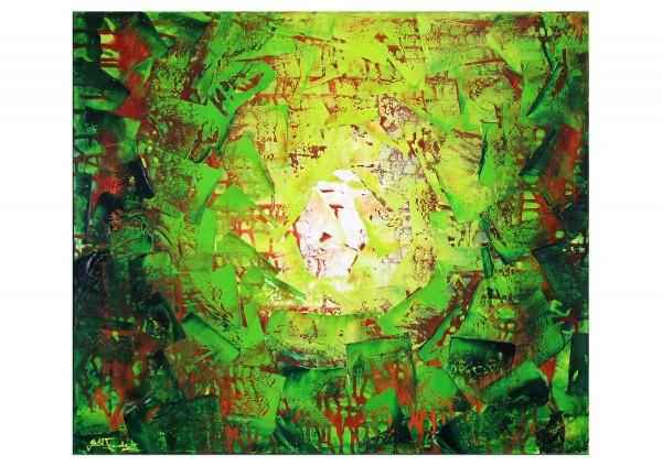 """Acrylbilder, J. Fernandez: """"The Opening I"""""""