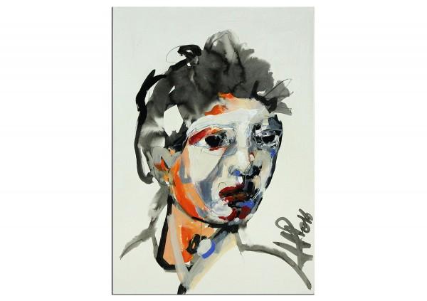 """Neoexpressionismus, Porträt, J.J. Piezanowski: """"Il est des routes"""" (A)"""
