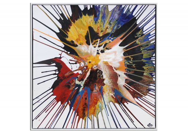 "Acrylgemälde, G. Hung: ""Metamorphose: Neugeburt I"""