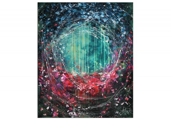 "Acrylbilder abstrakt, A. Freymuth: ""Millefiori"" (A)"