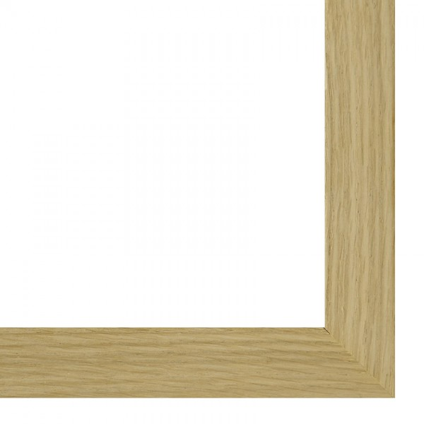 Premium Bilderrahmen Holz Eiche HR-M2035B34-e, inkl. Blendrahmbleche